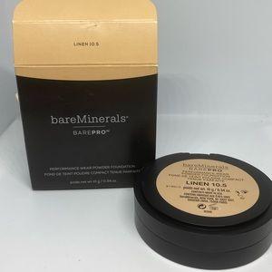 Bareminerals barepro powder foundation linen 10.5